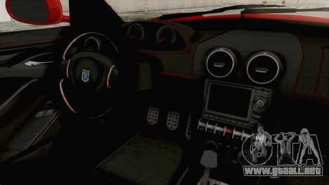 GTA 5 Grotti Bestia GTS v2 IVF para visión interna GTA San Andreas