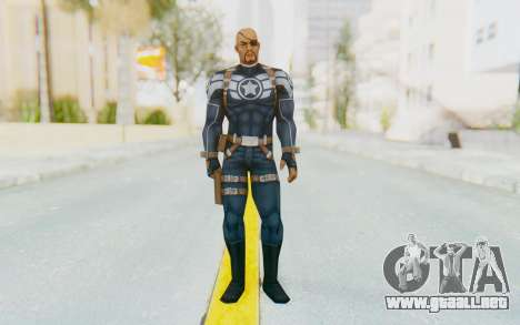 Marvel Future Fight - Nick Fury para GTA San Andreas segunda pantalla