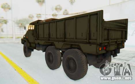 MGSV Phantom Pain BOAR 53CT Truck para la visión correcta GTA San Andreas