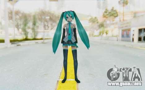 Project Diva F2 - Hatsune Miku (Music Girl) para GTA San Andreas segunda pantalla