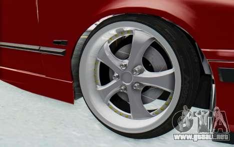 BMW M3 E36 2.5 TDS para visión interna GTA San Andreas