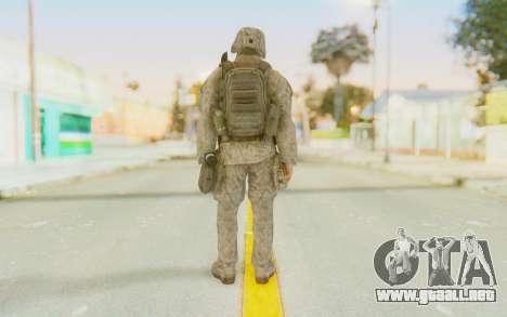 CoD MW2 Ghost Model v3 para GTA San Andreas tercera pantalla