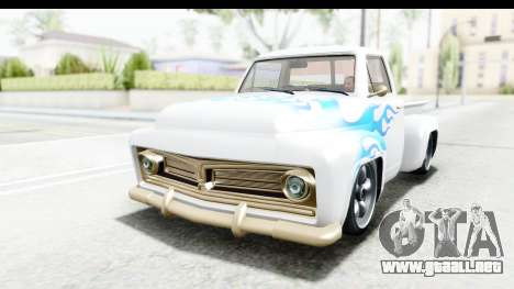 GTA 5 Vapid Slamvan without Hydro para vista inferior GTA San Andreas