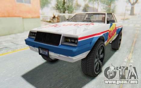 GTA 5 Willard Faction Custom Donk v1 IVF para vista inferior GTA San Andreas