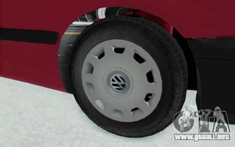 Volkswagen Golf 3 1994 para GTA San Andreas vista hacia atrás