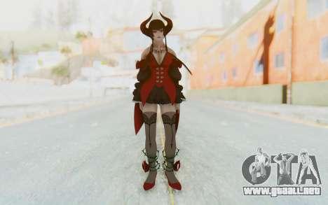 Eliza Skin para GTA San Andreas segunda pantalla