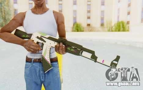 CS:GO - AK-47 Sport para GTA San Andreas tercera pantalla