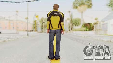 Dead Rising 3 Chuck Greene on DR2 Outfit para GTA San Andreas tercera pantalla