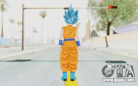 Dragon Ball Xenoverse Female Saiyan SSGSS para GTA San Andreas tercera pantalla