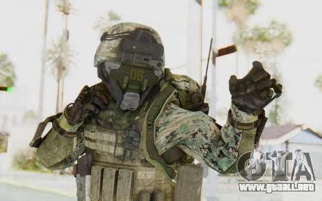CoD AW US Marine Assault v1 Head A para GTA San Andreas