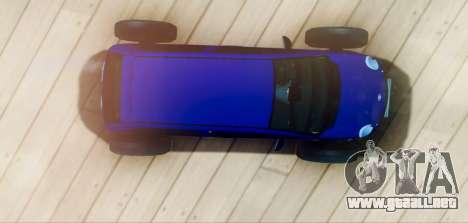 Daewoo Matiz R20 Vossen para la visión correcta GTA San Andreas