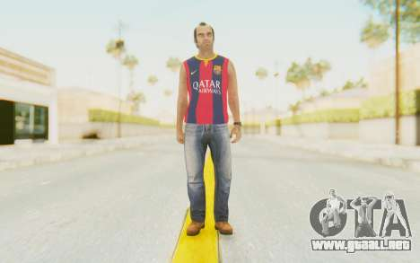 Trevor Barcelona para GTA San Andreas segunda pantalla