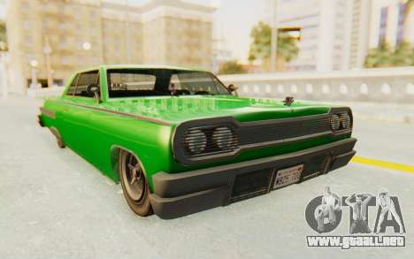 GTA 5 Declasse Voodoo SA Lights para GTA San Andreas