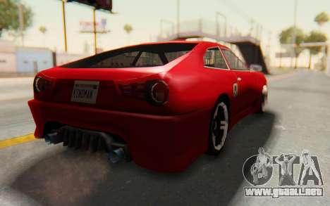 Elegy GT v1 para la visión correcta GTA San Andreas