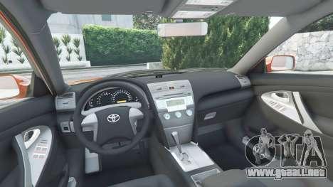GTA 5 Toyota Camry V40 2008 [add-on] delantero derecho vista lateral