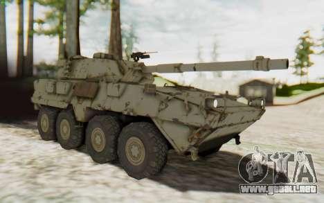 MGSV Phantom Pain STOUT IFV APC Tank v1 para la visión correcta GTA San Andreas