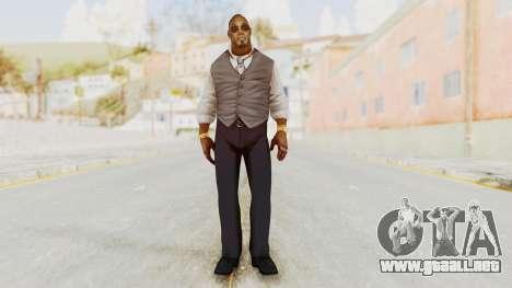 Dead Rising 2 Off The Record TK Coat Less para GTA San Andreas segunda pantalla