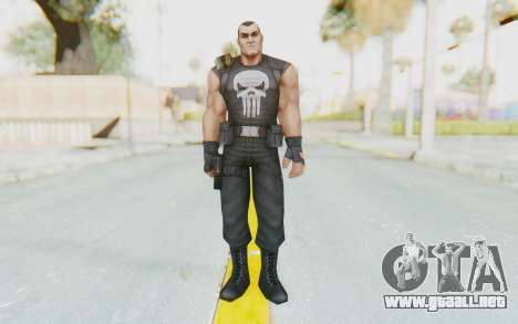 Marvel Future Fight - Punisher para GTA San Andreas segunda pantalla