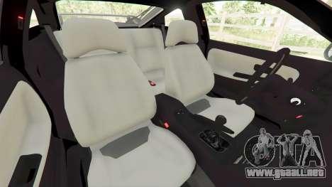 GTA 5 Nissan 180SX Type-X v0.5 delantero derecho vista lateral