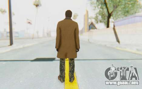 GTA 5 DLC Finance and Felony Male Skin para GTA San Andreas tercera pantalla