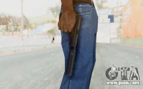 H&K 45 Silenced para GTA San Andreas