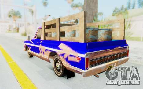 Chevrolet C10 1970 para GTA San Andreas left