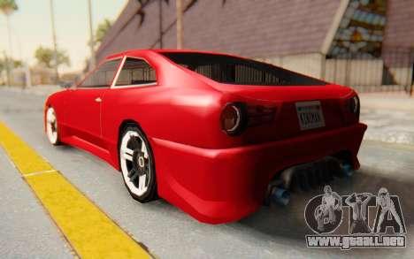 Elegy GT v1 para GTA San Andreas left
