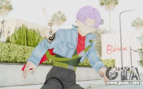 Trunks Del Futuro v2 para GTA San Andreas