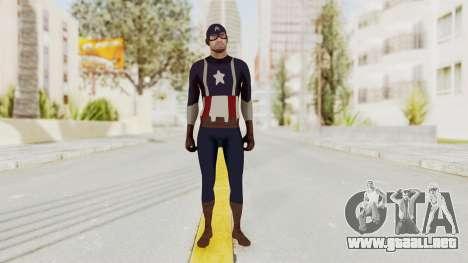Trevor in Captain America Suit para GTA San Andreas segunda pantalla