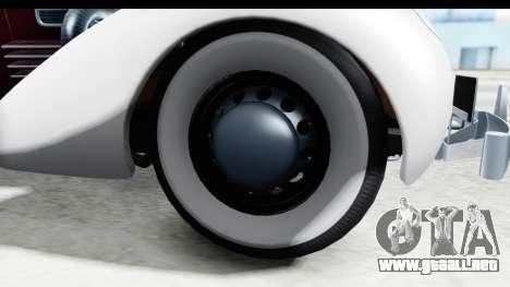 Cord 812 Charged Beverly Low Chrome para GTA San Andreas vista hacia atrás