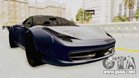 Ferrari 458 VPM Crew para GTA San Andreas