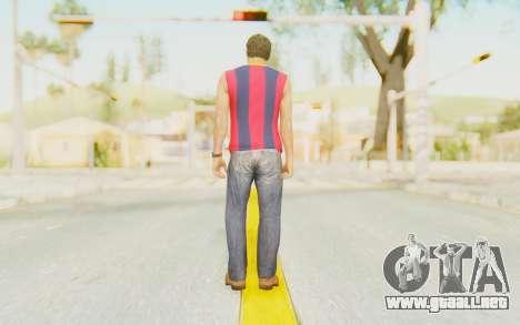 Trevor Barcelona para GTA San Andreas tercera pantalla