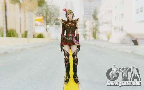 Dynasty Warriors 8 - Lu Lingqi v1 para GTA San Andreas segunda pantalla