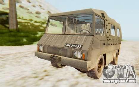 Pinzgauer 710M para la visión correcta GTA San Andreas