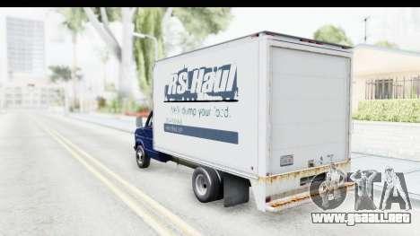 Ford E-350 Cube Truck IVF para GTA San Andreas left