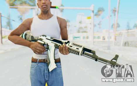 CS:GO - AK-47 Vulcan para GTA San Andreas tercera pantalla