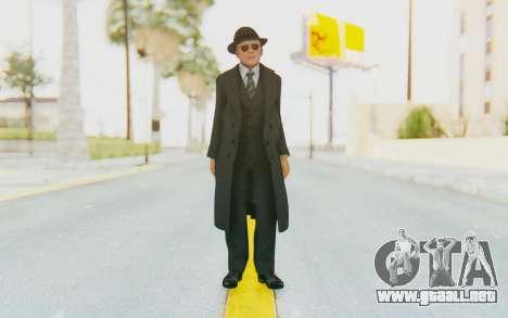 Mafia 2 - Jimmy Vendetta Black Suit para GTA San Andreas segunda pantalla