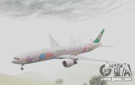 Boeing 777-300ER Eva Air v2 para GTA San Andreas