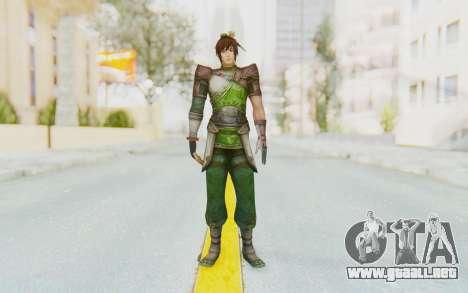 Dynasty Warriors 8 - Guan Su para GTA San Andreas segunda pantalla
