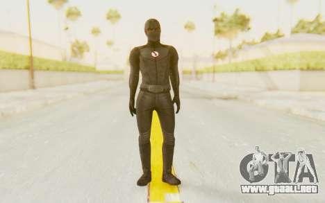 The Flash CW - Black Flash para GTA San Andreas segunda pantalla