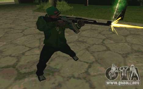 AK-47 Vulcan (SA) para GTA San Andreas sexta pantalla