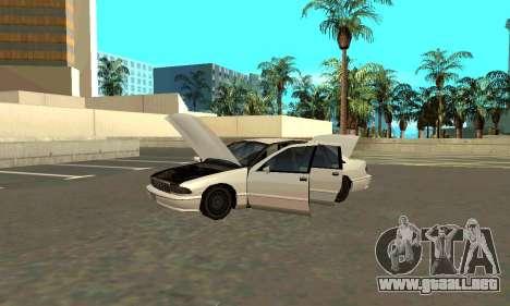 Caprice styled Premier para la visión correcta GTA San Andreas