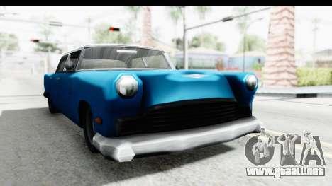 Cabbie Oceanic para la visión correcta GTA San Andreas