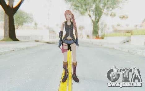 Final Fantasy XIII-2 - Serah Style and Steel para GTA San Andreas segunda pantalla