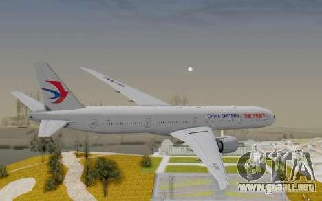 Boeing 777-300ER China Eastern Airlines para la visión correcta GTA San Andreas