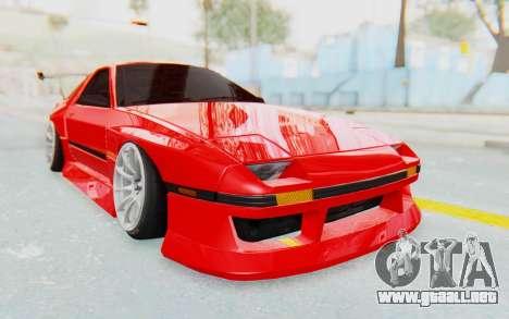 Mazda RX-7 FC3S BN Sport para GTA San Andreas vista hacia atrás