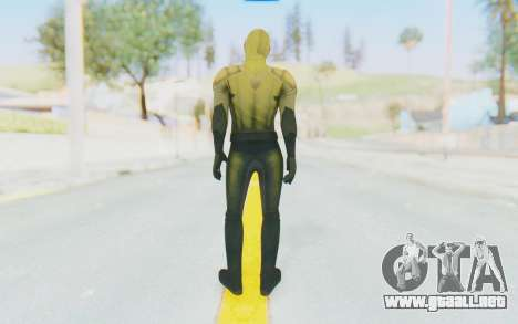 The Reverse Flash CW para GTA San Andreas tercera pantalla