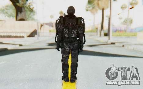 CoD Advanced Warfare Gideon para GTA San Andreas tercera pantalla