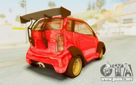 GTA 5 Benefactor Panto Custom para GTA San Andreas left