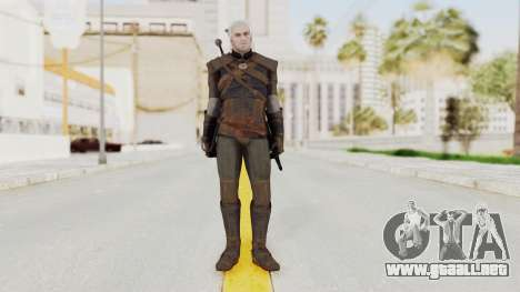 The Witcher 3: Wild Hunt - Geralt of Rivia para GTA San Andreas segunda pantalla